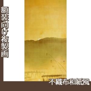 下村観山「納涼」【複製画:不織布和紙風】