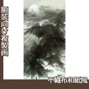 川端龍子「伊豆の国」【複製画:不織布和紙風】