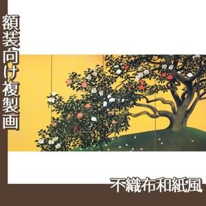 速水御舟「名樹散椿」【複製画:不織布和紙風】