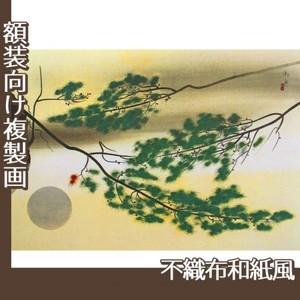 速水御舟「円かなる月」【複製画:不織布和紙風】