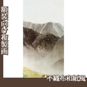 川合玉堂「遠雷麦秋2」【複製画:不織布和紙風】