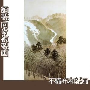 川合玉堂「峰の夕1」【複製画:不織布和紙風】