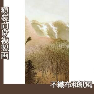 川合玉堂「峰の夕2」【複製画:不織布和紙風】