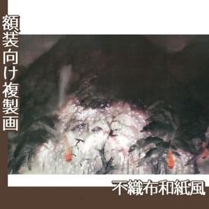 冨田溪仙「祇園夜桜」【複製画:不織布和紙風】