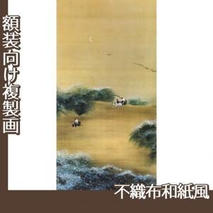 横山大観「月下牧童」【複製画:不織布和紙風】