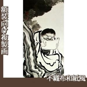 伊藤若冲「十六羅漢図(六幅) 四」【複製画:不織布和紙風】