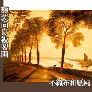 ターナー「モートレイクの公園」【複製画:不織布和紙風】