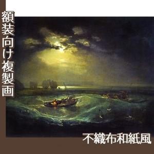 ターナー「海の猟師たち」【複製画:不織布和紙風】