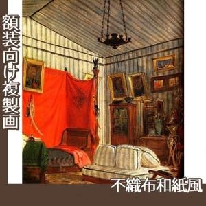 ドラクロワ「モルネー伯爵の居室」【複製画:不織布和紙風】