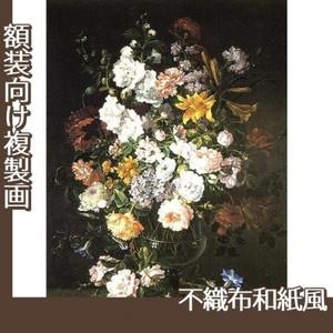 バティスト・モノワイエ「花瓶の花」【複製画:不織布和紙風】