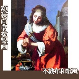 フェルメール「聖女プラクセディス」【複製画:不織布和紙風】