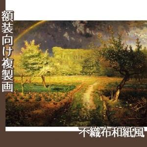 ミレー「春」【複製画:不織布和紙風】