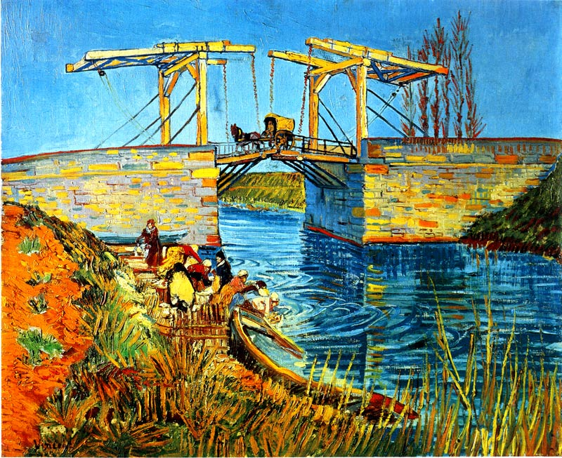 アルルのはね橋(ラングロワ橋)