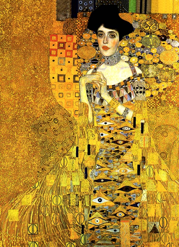 アデーレ・ブッロホ=バウアーの肖像