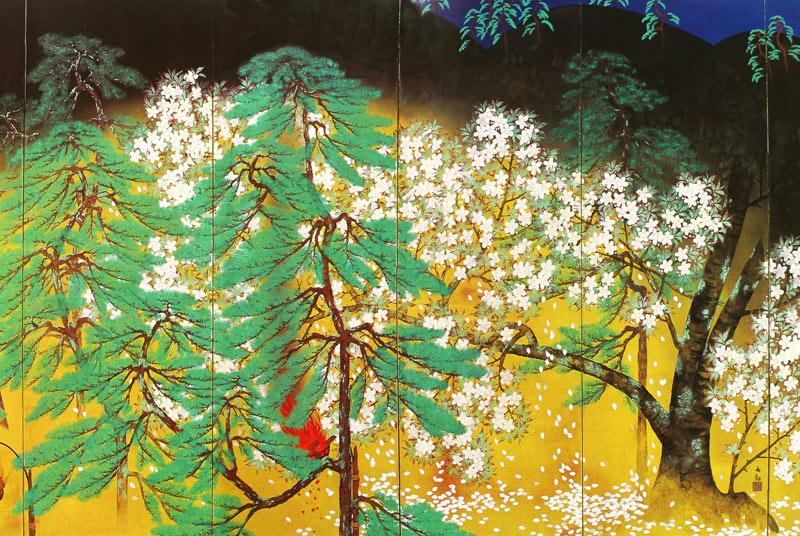 夜桜(右隻)