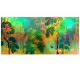 横山大観「柿紅葉(右隻)」【ホログラム額装向け複製画】