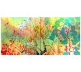 横山大観「柿紅葉(左隻)」【ホログラム額装向け複製画】